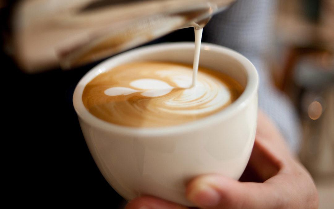 Kaffee als Highlight beim Sektempfang