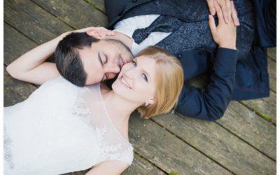 Modernes Brautpaarshooting in Breitenthal