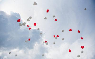 Luftballons zur Hochzeit ist Umweltverschmutzung