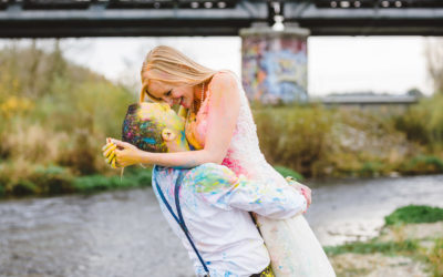 After-Wedding Shooting / Trash the Dress in Erbach