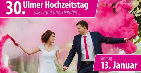 """30. Ulmer Hochzeitstag. Diesmal auch mit den Machern von """"Zwischen Tüll und Tränen""""!"""