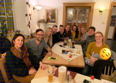Netzwerktreffen der 5-Sterne bei Neumaiers Hirsch in Attenhofen