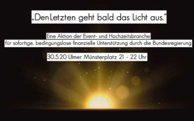 Offenes Statement der Hochzeits- und Eventbranche zu Covid-19  vom 22. April 2020