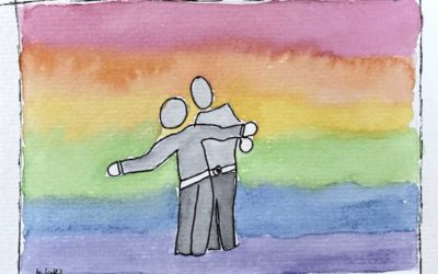 LGBTQ Hochzeiten – Aquarellmalerei